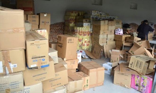 Katerini pomoc ugrozenima u Srbiji