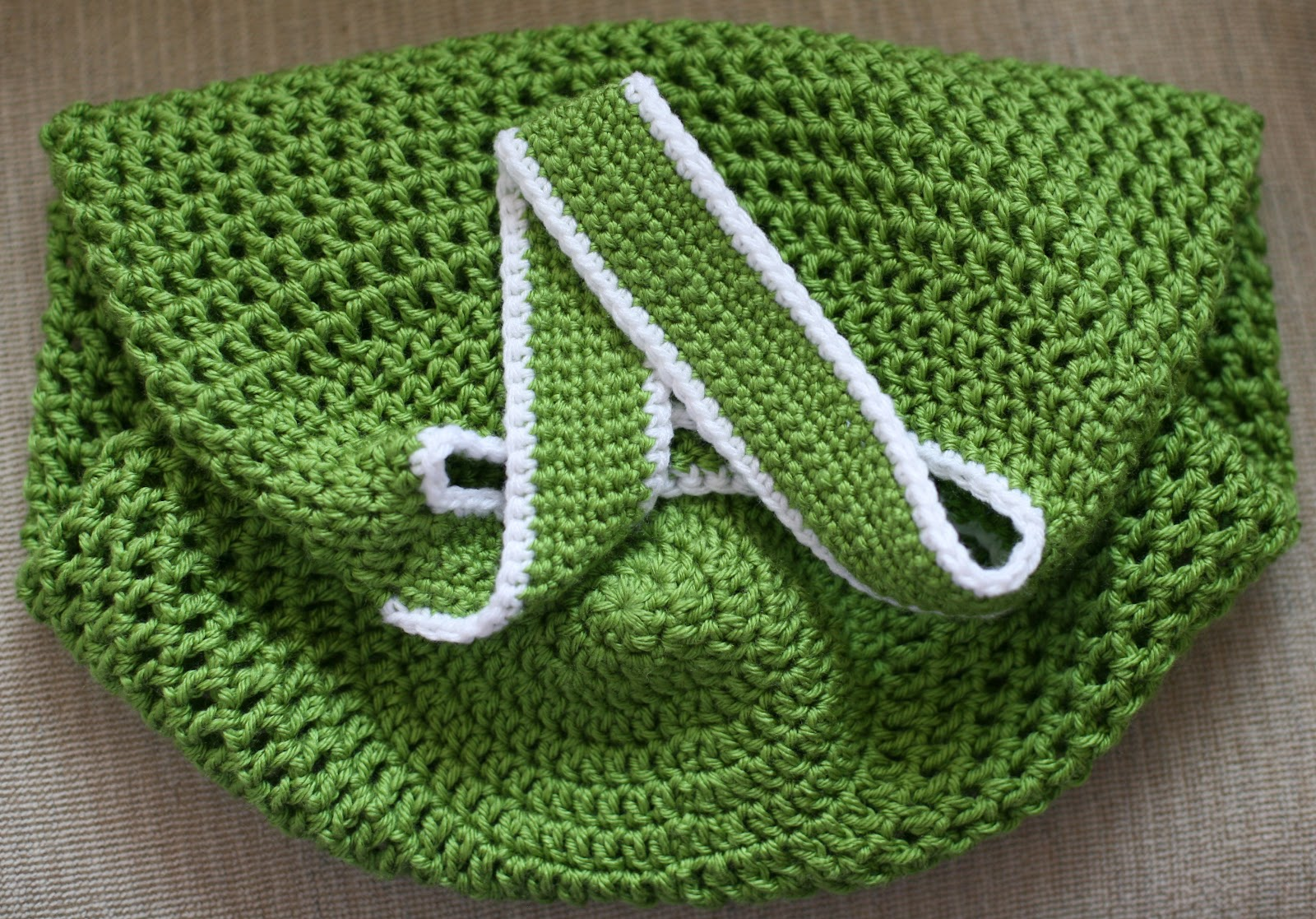 Unique Crochet Shopping Bag Free Pattern Embellishment - Easy Scarf ...