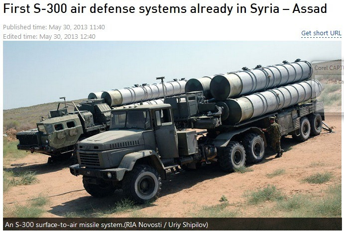 Defense strategies syrian s 300 air defense missiles system boosting