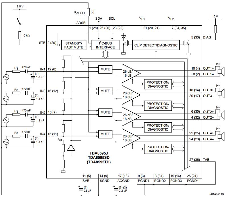 amplifiercircuits com  audio power amplifier