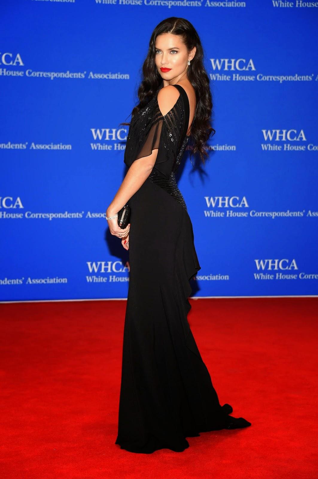 Adriana Lima – 101st Annual White House Correspondents' Association Dinner in Washington