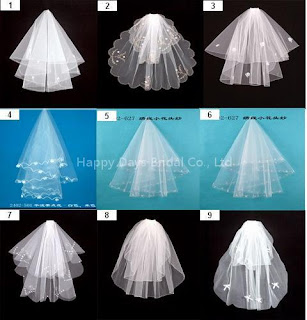 ivory wedding veils with comb