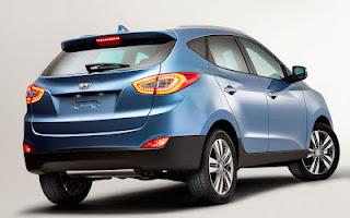 2014 Hyundai ix35 Rear