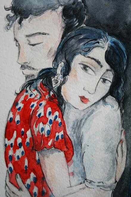 """"""" La robe rouge """""""