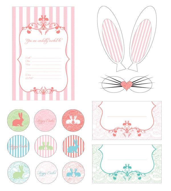 Modern Mindy: Free Vintage Easter Printables!