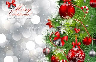 Tarjeta de Navidad Arbolito de Navidad Alegre
