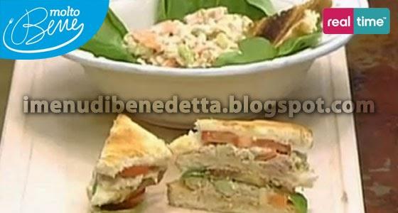 Tuna Salad Sandwich di Benedetta Parodi