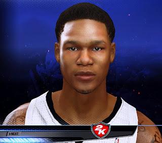 NBA 2K14 Ben McLemore Cyberface Mod
