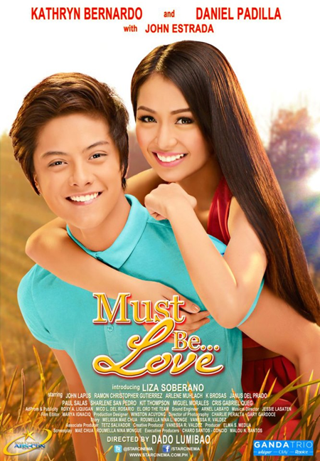 Kathryn Bernardo and Daniel Padilla 'Must Be Love' Movie Poster