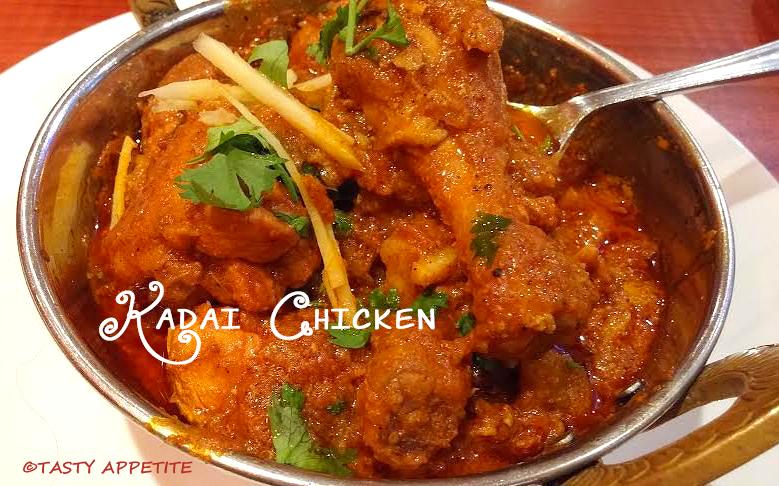 Kadai chicken recipe spicy karahi chicken side dish for rotis method forumfinder Images