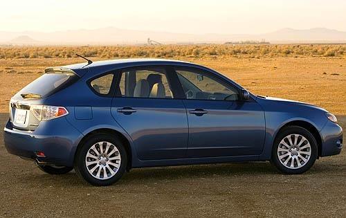 2008 Subaru Impreza Manual