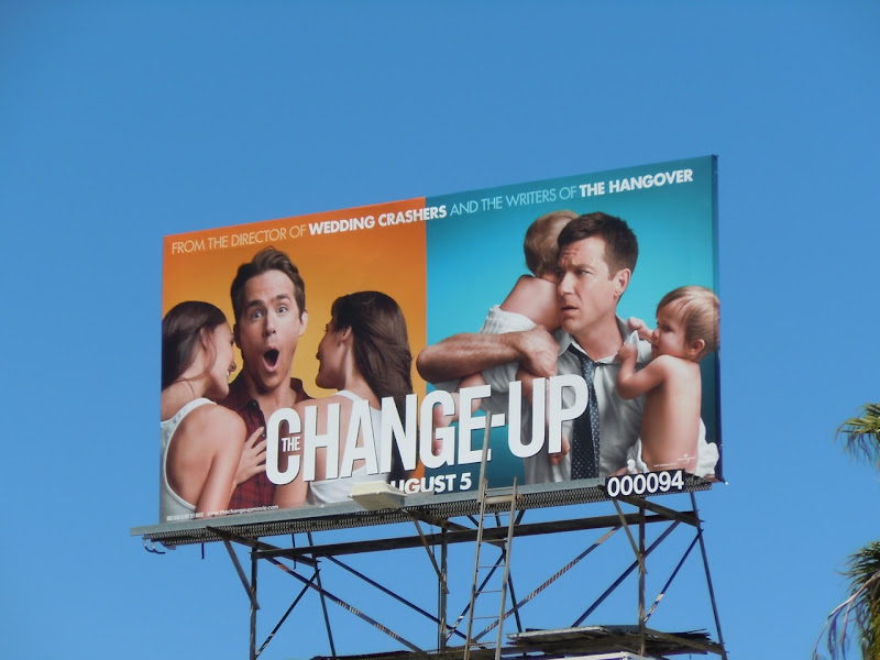 Change-Up film billboard