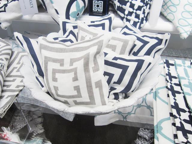 Nbaynadamas lavender sachets in a bowel at the Nbaynadamas booth at the New York International Gift Fair