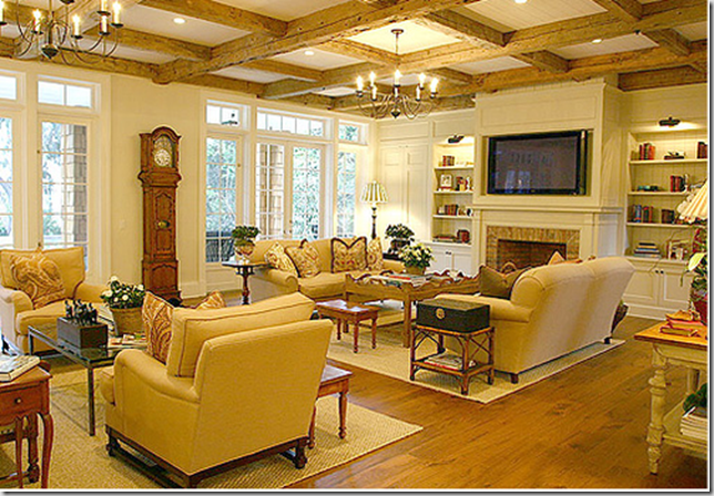 Interior design living room furniture arrangement living for Living room fireplace tv arrange