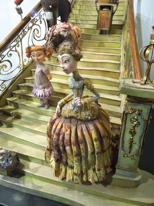 The Boxtrolls stop-motion Winnie Lady Portley-Rind figures