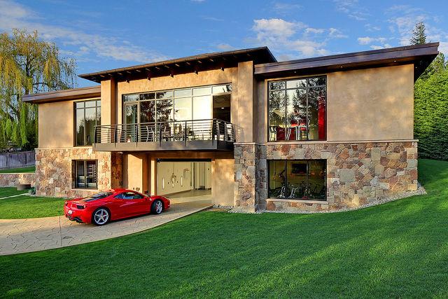 casa para amantes de los autos