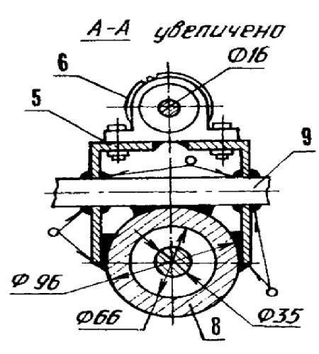 Кинематическая схема (а) и