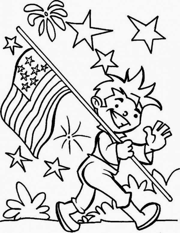 Independence Day Usa for Coloring, part 3