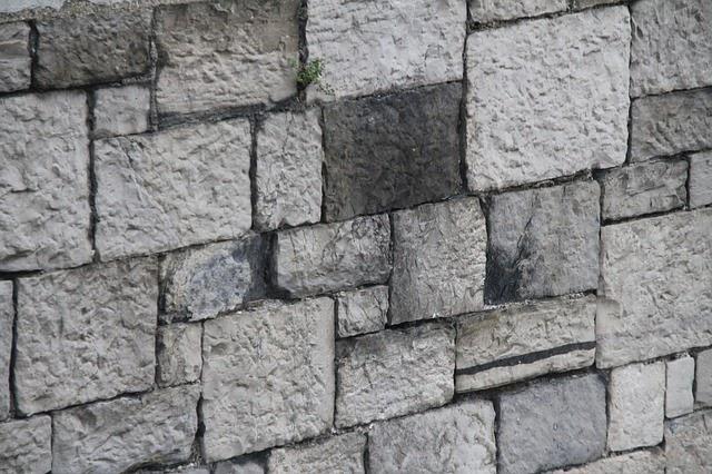 Textura de muro de siller a con piedras rectangulares for Piedra de silleria