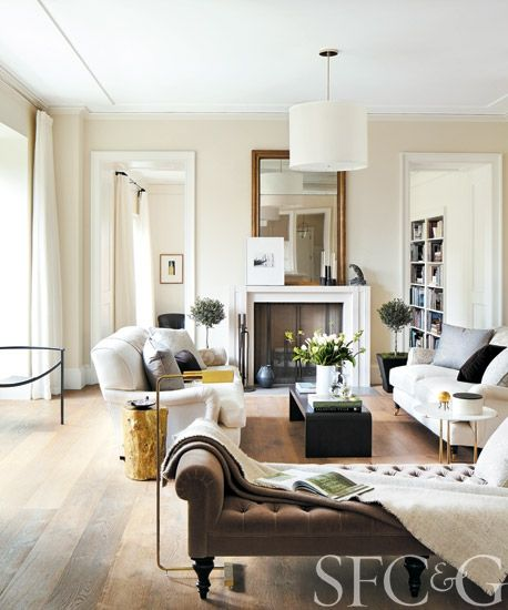 Chic Elegance Of Neutral Colors For The Living Room 10 Amazing Examples: South Shore Decorating Blog: 50 Favorites For Friday #205