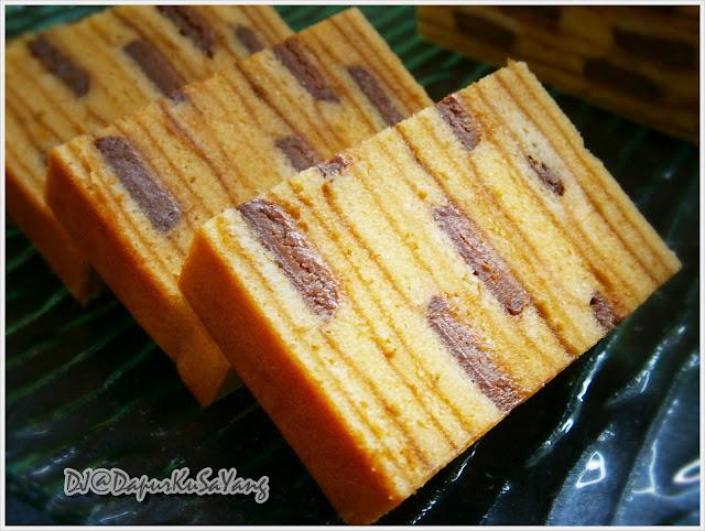 Kek Lapis India / Kek Lapis Cadbury