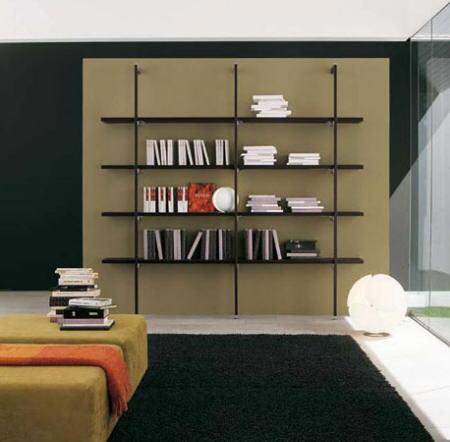 Nea. muebles a medida.: estanterías minimalistas.