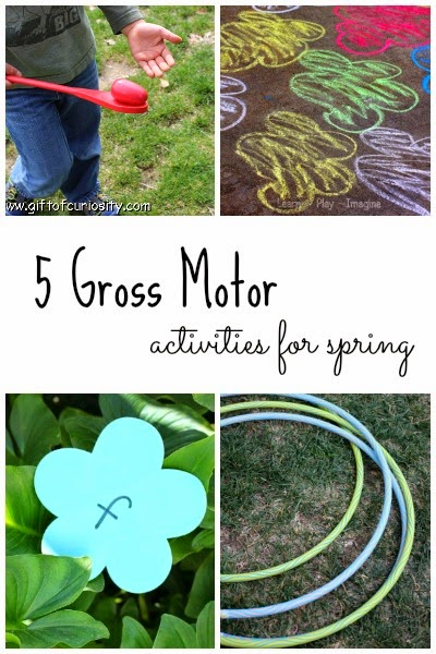 5 fun gross motor activities for spring