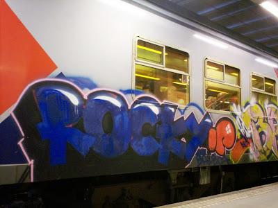 graffiti ROCKY