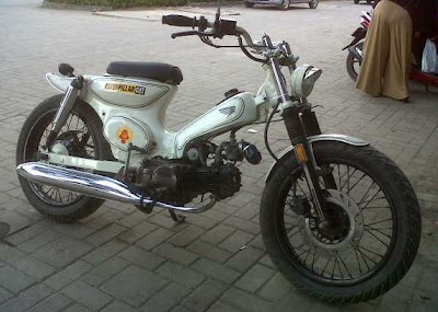 ide modifikasi motor honda star