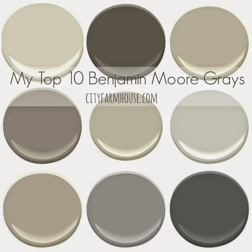 benjamin moore gray paint