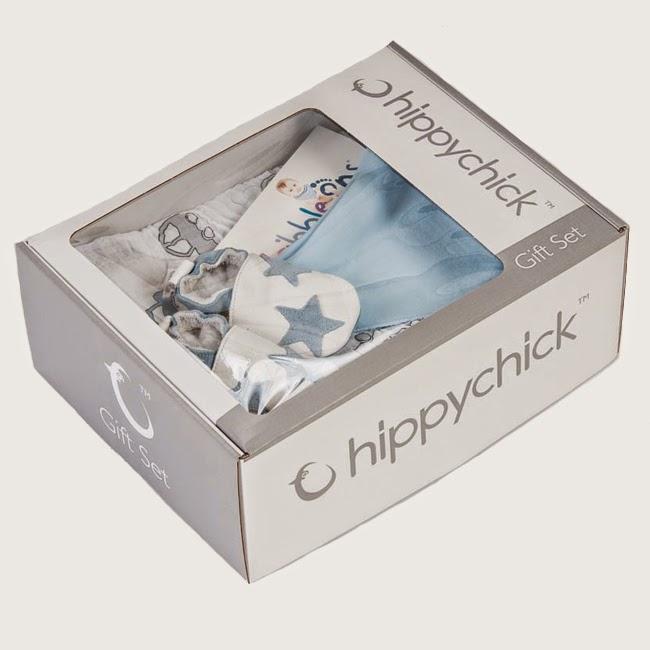 Hippychick newborn baby boy gift set