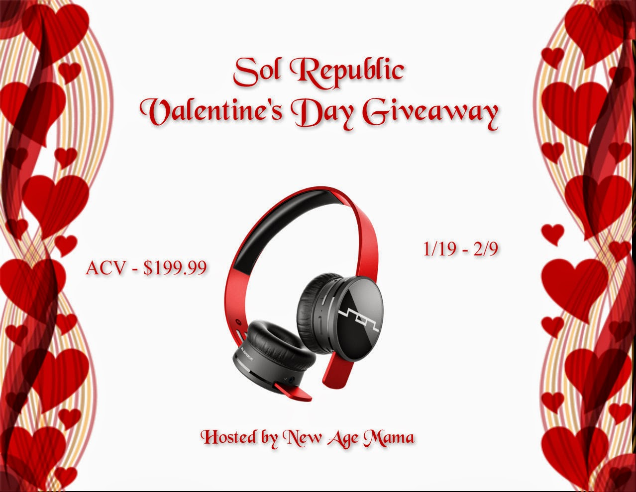 Sol Republic Headphones Valentine's Day Giveaway