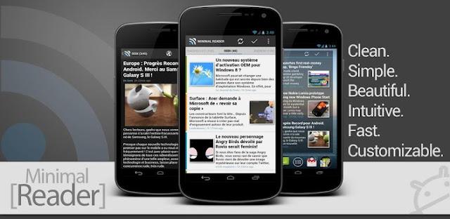 Minimal Reader Pro v3.3.0 Update Apk App