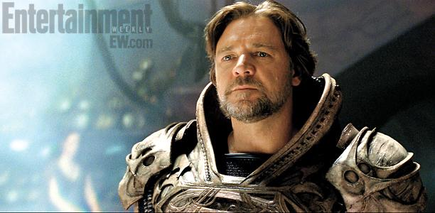 Man of Steal - Russel Crowe as Jor-El