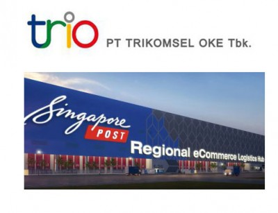Trikomsel dan SingPost Jalin Kemitraan Manfaatkan Peluang Bisnis Ecommerce di Indonesia