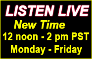 Call the show toll free 12-2pm when the show is live at: 888-971-SAGE (7243)
