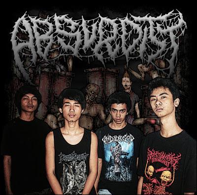 Absurdity Band Brutal Death Metal Pontianak Kalimantan Barat Foto Logo Wallpaper