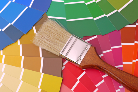 Home interior design paint must be environmentally and for Eco paint