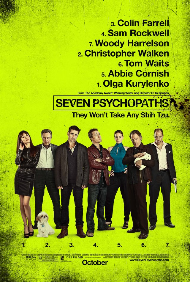 Music more seven psychopaths film4bfiblueprint pictures 2012 seven psychopaths film4bfiblueprint pictures 2012 genius writing casting direction malvernweather Image collections