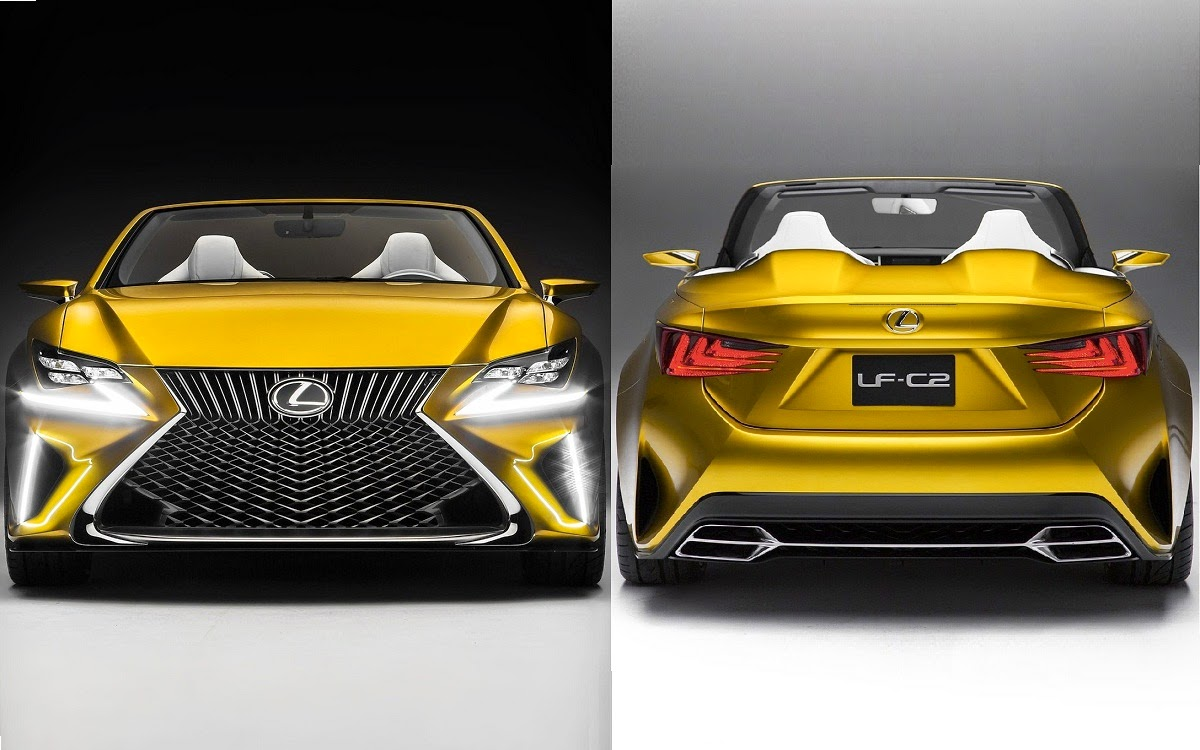 2014 Lexus LF-C2 Concept Convertible | Car Reviews | New Car ...