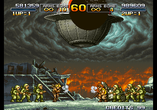 Metal Slug 2 Super Vehicle