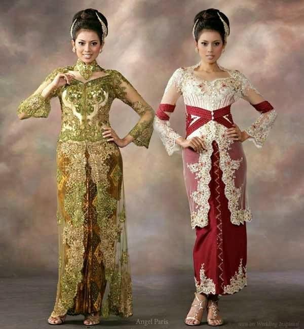 Foto Model Baju Kebaya Pengantin Modern 2015