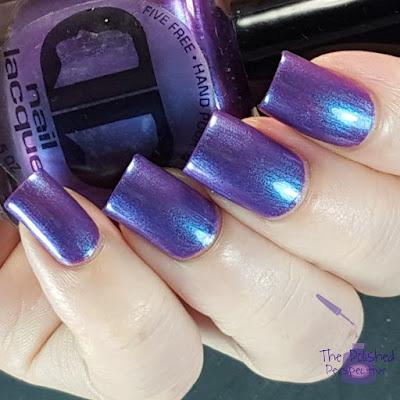 dd nail lacquer aurorealis