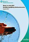Cover Water in zicht 2012 - bedrijfsvergelijking drinkwatersector