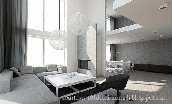 desain rumah ideal memilih wallpaper ruang tamu yang elegan
