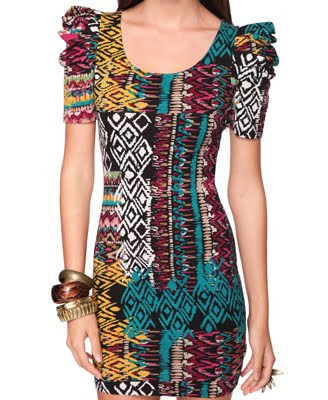 >I want Forever 21 Fitted Tribal Dress