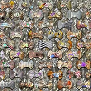 Mosaico Experiencial-Hueso. Obra del Rivismo de Ramón Rivas. Florence-Shanghai Prize 2014