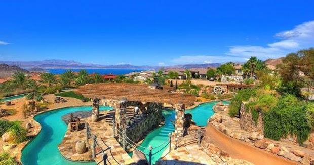 Bizarre News The $3 Million Slip N Slide Water Park House In N