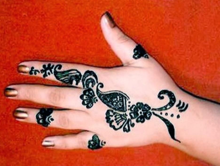 Mehndi Tattoo Hands For Boys : Easy mehndi design for kids hands pictures