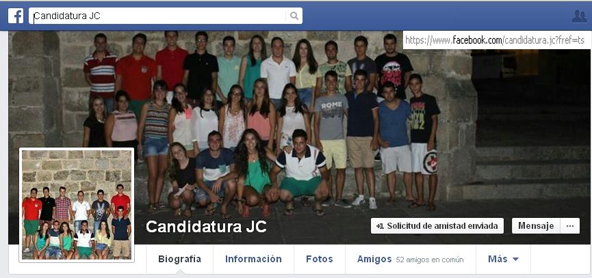 Candidatura David de Miguel. Juventud Cauriense Sanjuanes Coria 2015